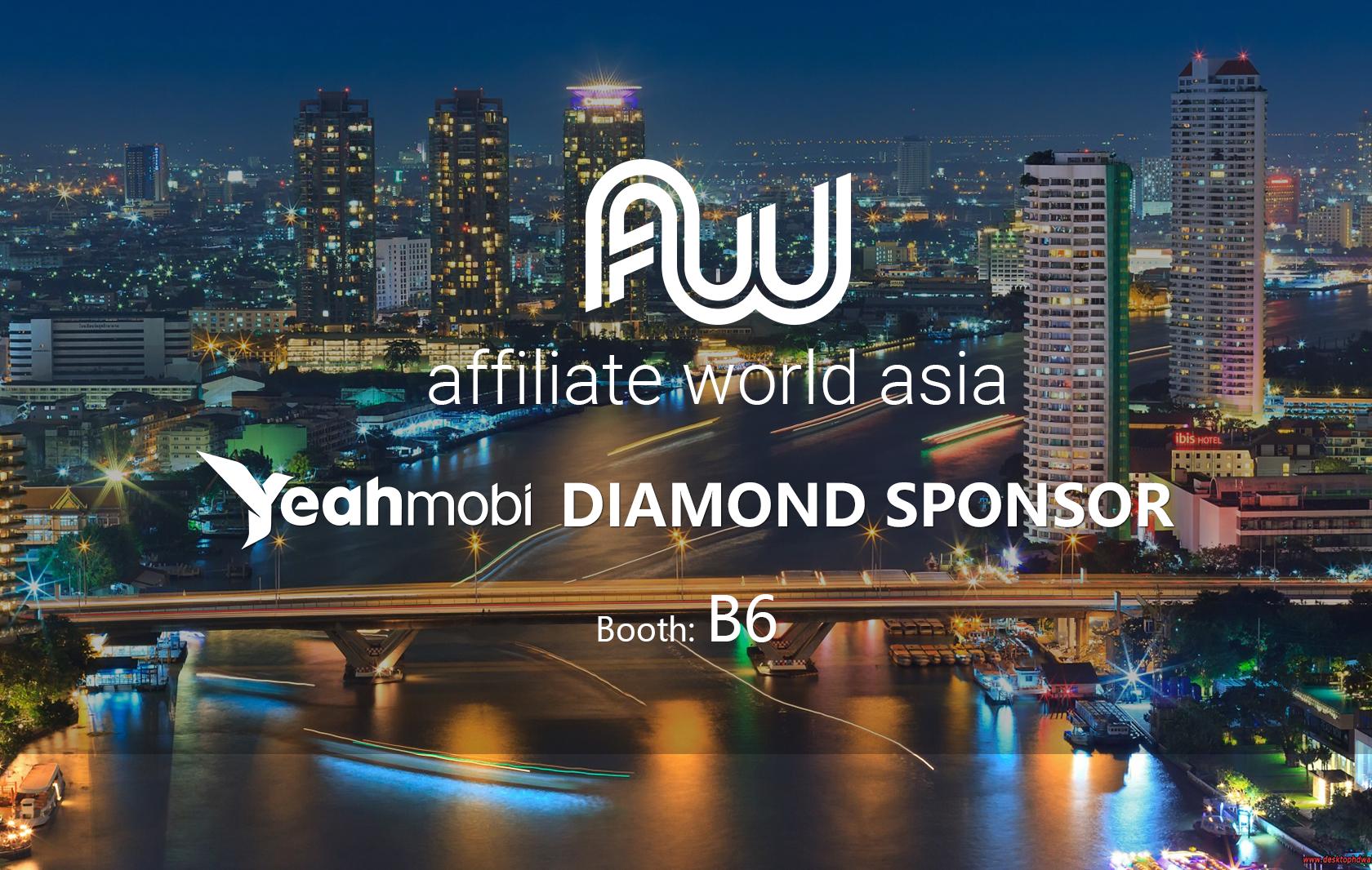 Affiliate World Asia -- Yeahmobi DIAMOND SPONSOR